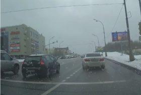 7-es, baleset, bmw, drift, oroszország, videó