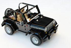 a nap képe, jeep, legó, wrangler