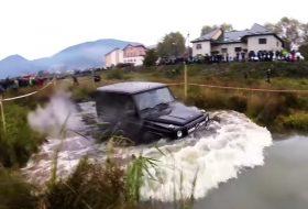 autós videó, G63, mercedes-benz, suv, terepjáró, ukrajna