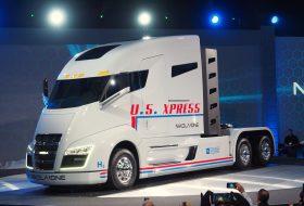 hidrogén, kamion, nikola, nikola one, üzemanyagcella, villanyhajtás
