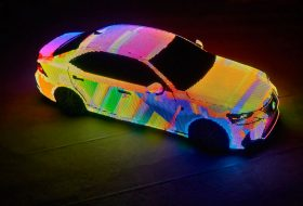 a nap képe, egyedi autó, lexus is, matrix led, videó