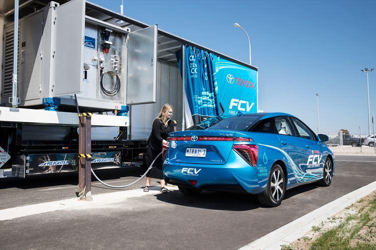 Mobil hidrogéntöltő állomás