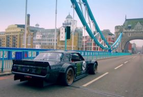 gymkhana, ken block, london, matt leblanc, top gear