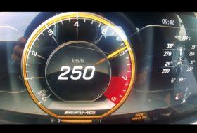 e63 amg, gyorsulás, mercedes-amg, új mercedes, videó