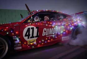 458 italia, drift, ferrari, karácsony, toyota gt 86, vicces, videó