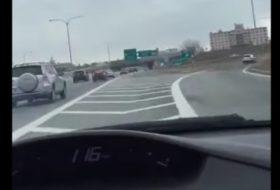 amerika, autóbaleset, szabálysértés, videó