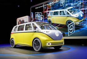 autonóm, egyterű, elektromos, i.d., i.d. buzz, mikrobusz, volkswagen