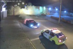 brazil, corvette, fánk, gumifüst, karma, rendőr