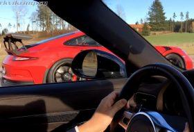 911 gt3 rs, 911 turbo s, autós videó, gyorsulási verseny, pdk, porsche 911