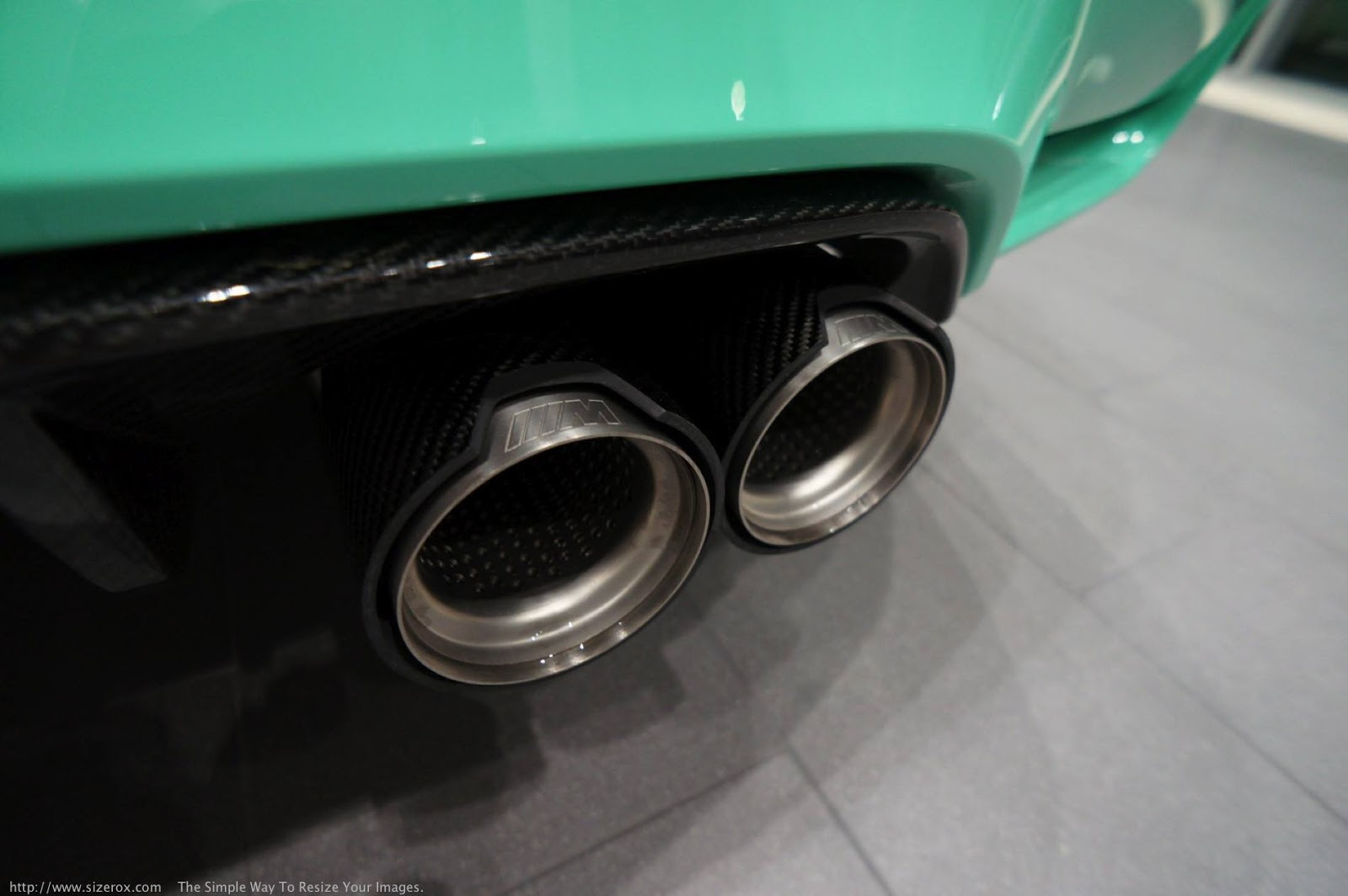 Individual mentolzöld BMW M3 F80