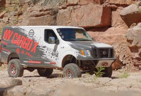 nissan, nv cargo, nv cargo x, off-road