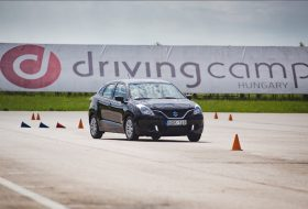 biztosító, drivingcamp, káresemény, vezetéstechnika