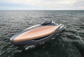 jacht, lexus, sport yacht