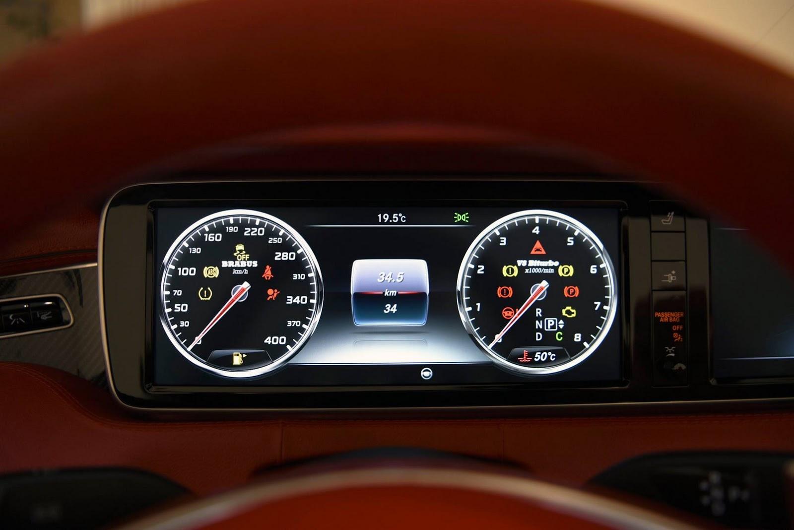A nap képe: Mercedes S63 Brabus 850 szívdöglesztő kabrió