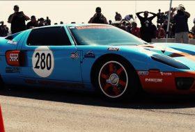 ford gt, gyorsulás, texas mile, világrekord