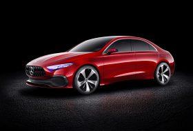 a-osztály, concept a sedan, mercedes, sanghaj