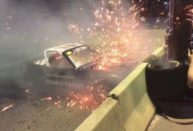 amerika, baleset, gumifüstölés, mazda mx-5, miata, videó