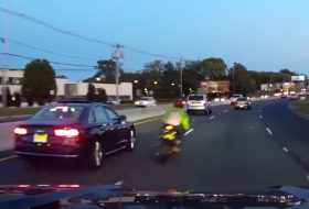 amerika, baleset, motoros, videó