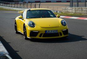 911 gt3, körrekord, nürburgring, porsche 911, videó, zöld pokol