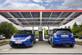 elektromos, honda, megújuló, napelem, töltőállomás