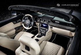 a nap képe, carlex design, karbon, tuning, új ford mustang