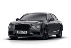 bentley, black edition, flying spur