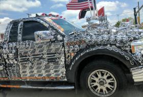 a nap képe, amerika, ford f-150, króm, tuning, vicces