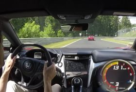 előzés, honda nsx, nürburgring, videó, zöld pokol