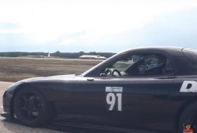 gyorsulási verseny, mazda, rekord, rx-7, videó, wankel-motor
