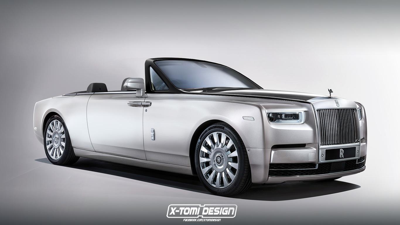 A nap képe: Az új Rolls-Royce Phantom tető nélkül