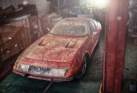 a nap képe, árverés, egyedi autó, enzo ferrari, oldtimer