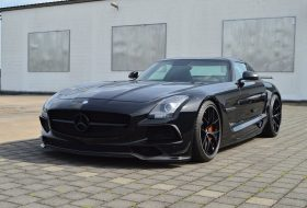 black series, inden design, mercedes, sls amg