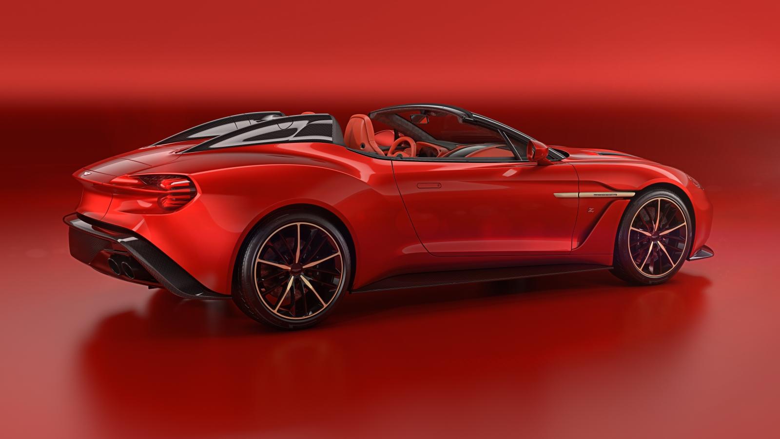 Az Aston Martin Vanquish Zagato család