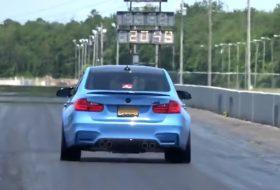 a nap képe, bmw m3, bugatti veyron, gyorsulási verseny, rekord, tuning, új bmw, videó