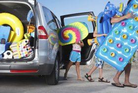 autóvezetés, balesetveszély, hőség, nyaralás, utazás