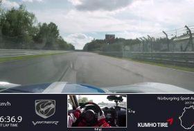 dodge, dodge viper, nürburgring, rekord, viper acr