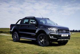 black edition, ford, ford ranger, különkiadás, pickup, ranger