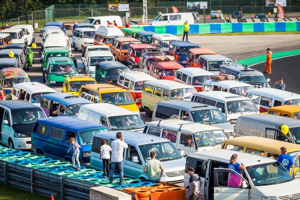 Volkswagen-találkozó a Hungaroringen