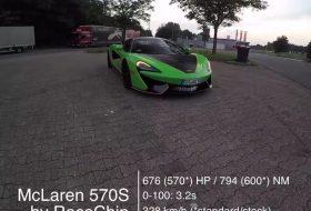 570s, autobahn, autós videó, gyorshajtás, tuning, új mclaren