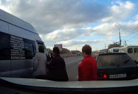 autóbaleset, gyalogos, oroszország, videó