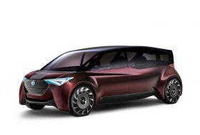 fine-comfort ride, hidrogén, tokiói autószalon, toyota, üzemanyagcella