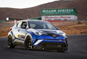 c-hr, c-hr r-tuned, leggyorsabb, sema, toyota c-hr, willow springs