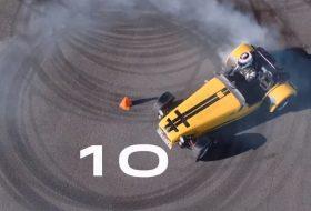 autós videó, caterham, caterham seven, világrekord