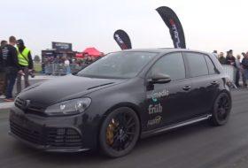 autós videó, golf r, gyorsulási verseny, tuning, új volkswagen