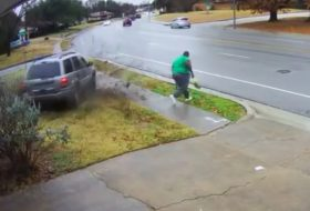 amerika, autós videó, baleset, grand cherokee, jeep
