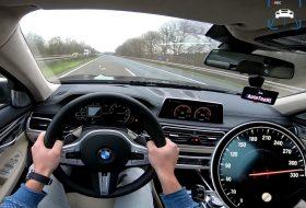 autobahn, autós videó, autotopnl, bmw, gyorshajtás, gyorsulás, m760Li, pov video