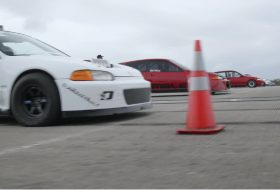 autós videó, civic type r, gyorsulási verseny, honda civic, vti