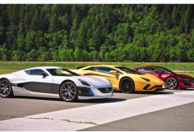 autós videó, aventador s, concept one, gyorsulási verseny, honda nsx, rimac, top gear, új lamborghini