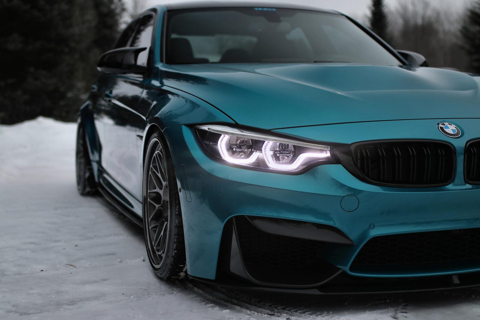 Atlantis Blue BMW M3