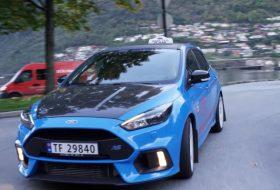 autós videó, focus rs, ford focus, taxi, új ford